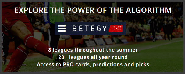 Betegy Football Betting Predictions