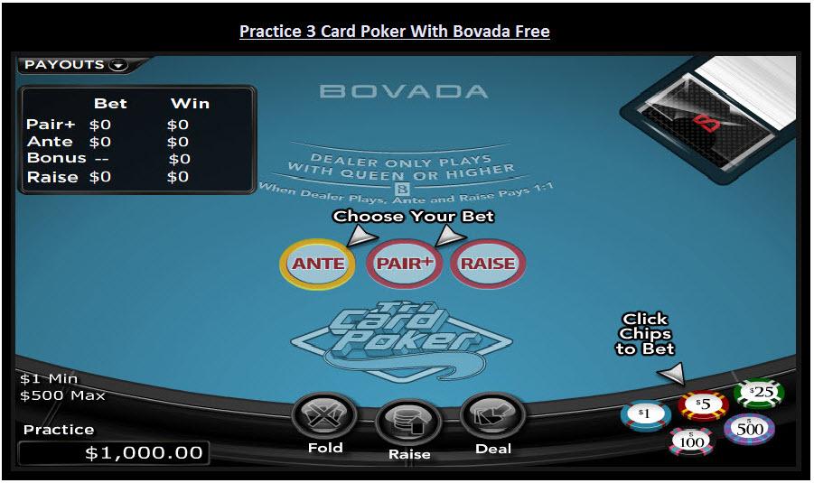 free online video poker practice