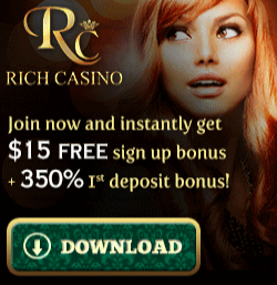 Link to Rich Casino Tournaments page