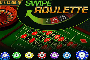 Swipe Roulette - Innovative Gaming From Golden Palace Casino
